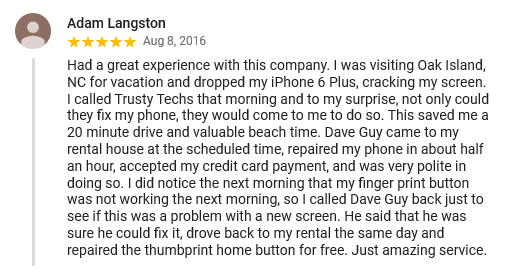 Customer Review #2